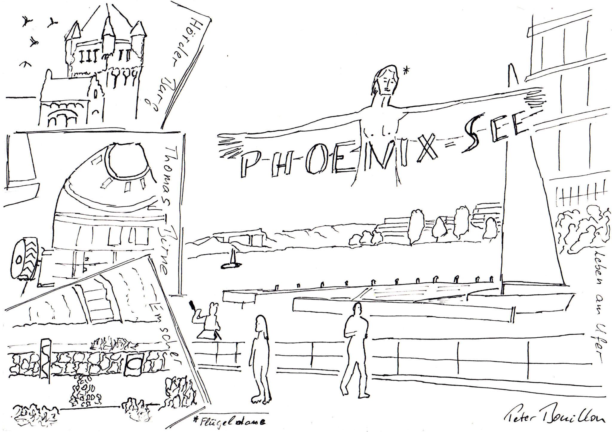 Phoenix-See - Peter Bouillon