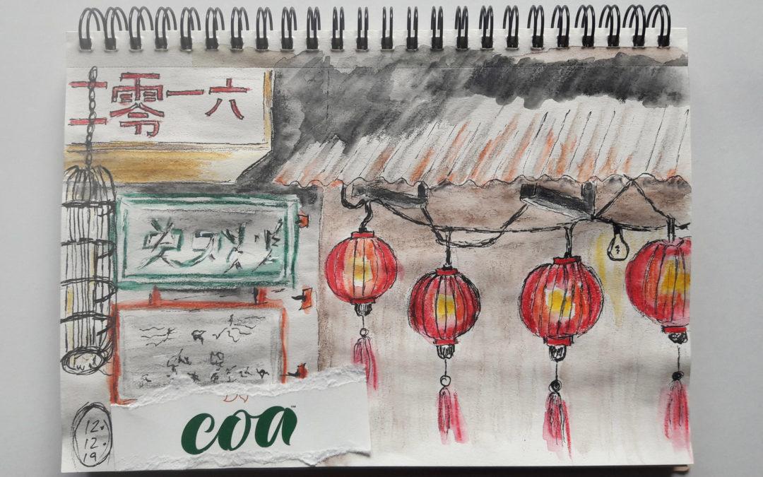 Drink & Draw im Coa, 12.12.19