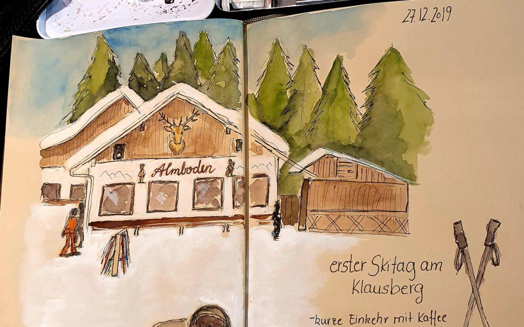 Skihütte im Ahrntal in Südtirol