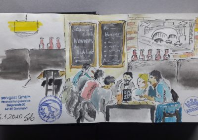 """Drink & Draw im """"Wenkers"""""""