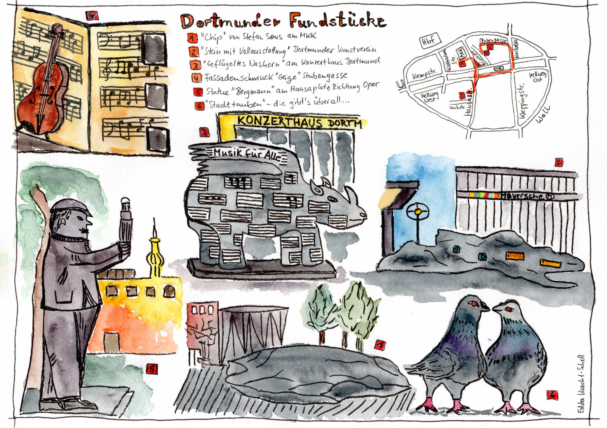 Dortmunder Fundstücke - Edda Kracht-Scholl