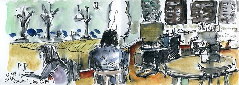 Zeichnen am Donnerstag, 27.02.20
