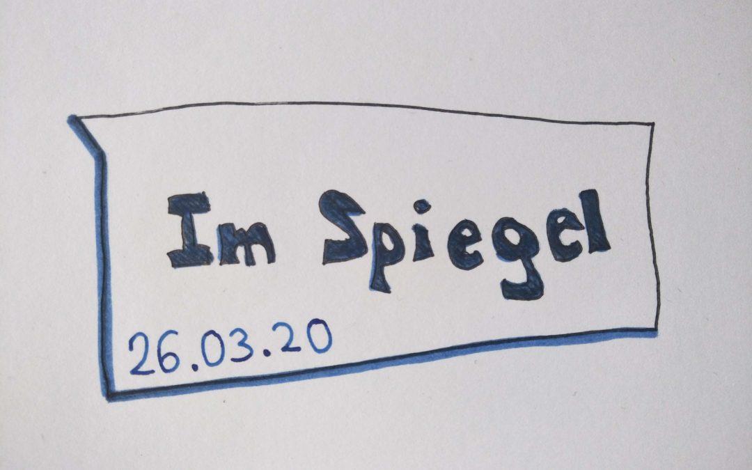 """UskDo Donnerstag: """"Im Spiegel"""""""