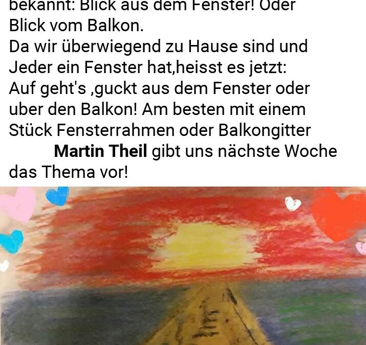 "UskDo Donnerstag: ""Blick aus dem Fenster"""