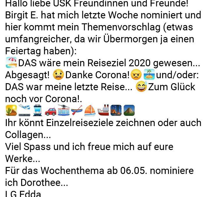 """Uskdo Donnerstag: """"Reisen"""""""