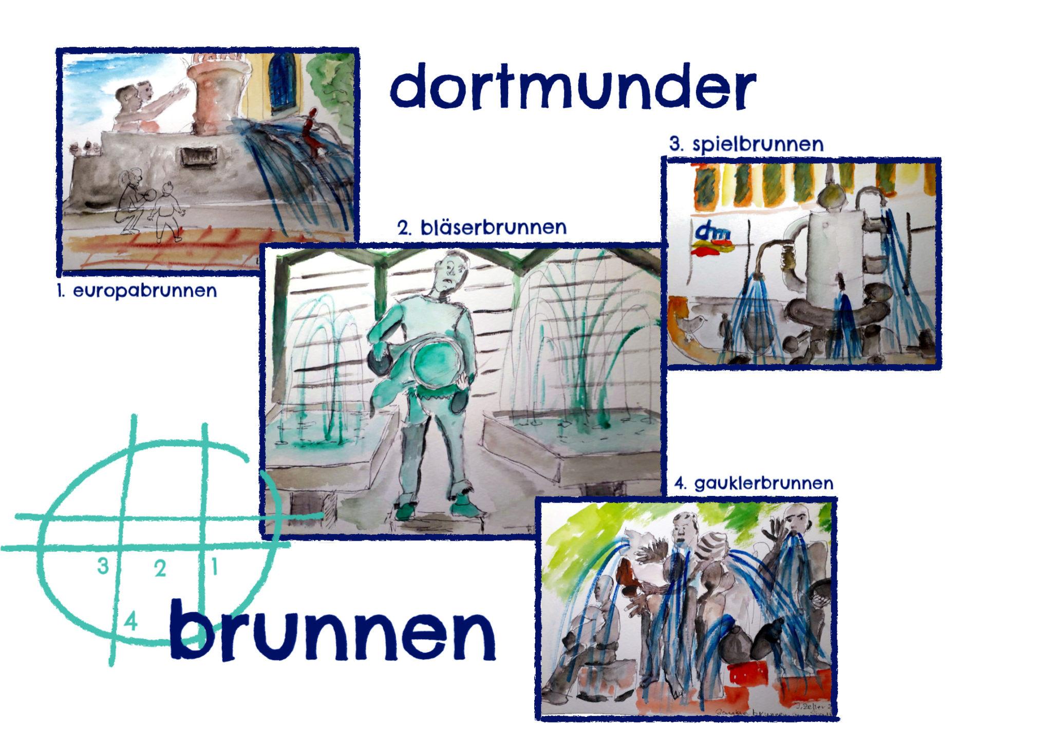 Dortmunder Brunnen - Inge Zeller