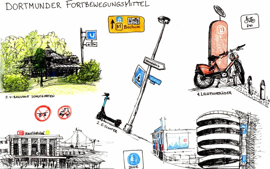 Dortmunder Fortbewegungsmittel