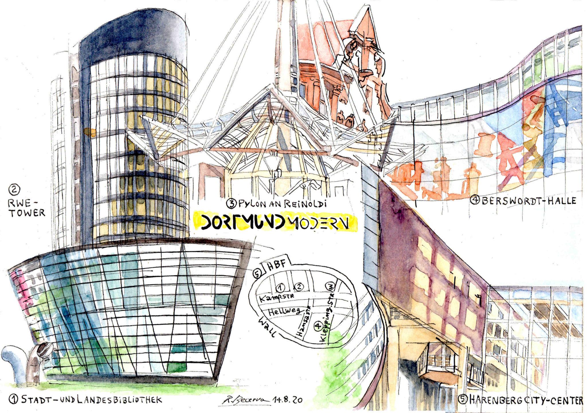Rene Becerra - Dortmund modern