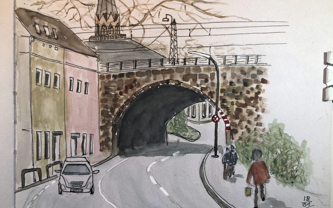 Brücke Benninghofer Str. In Dortmund Hörde