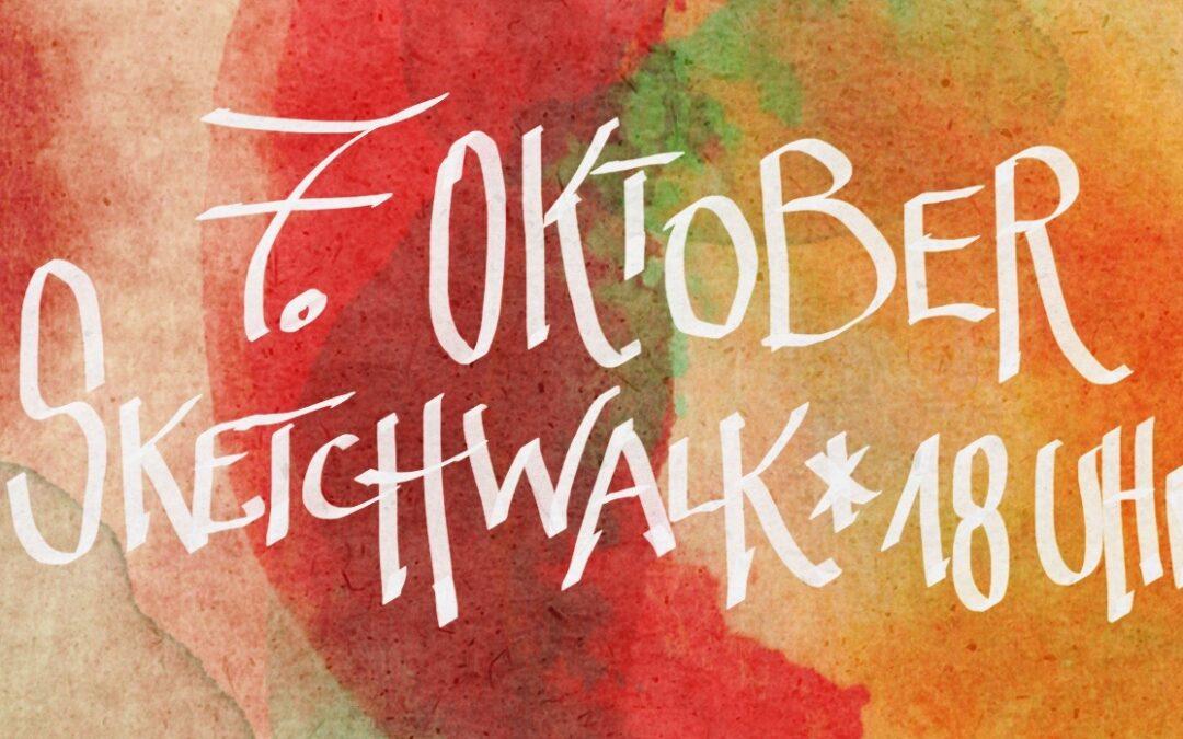 Zeichnen am 7. Oktober