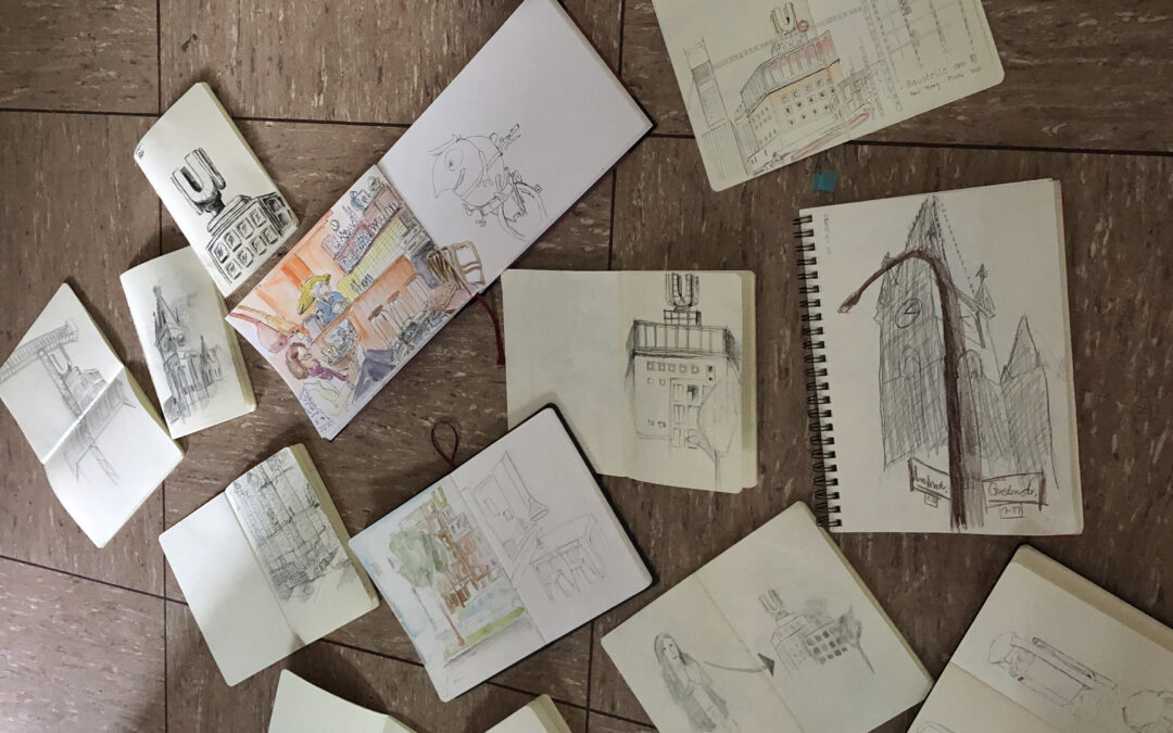 Ergebnisse des Sketchwalks